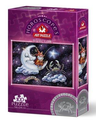 Art Puzzle Yengeç Burcu 100 Parça 5804
