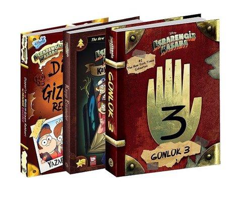 Disney Esrarengiz Kasaba En Favori Kitaplar Seti-3 Kitap Takım