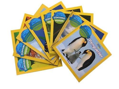 National Geographic Kids-Dünyamızı Keşfedin Seti-8 Kitap Takım
