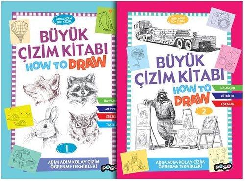 Büyük Çizim Kitabı Seti-2 Kitap Takım
