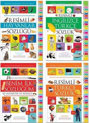 İlk Resimli Sözlükler Seti-4 Kitap Takım