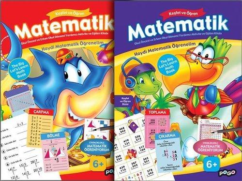 Keşfet ve Öğren Matematik Seti-2 Kitap Takım