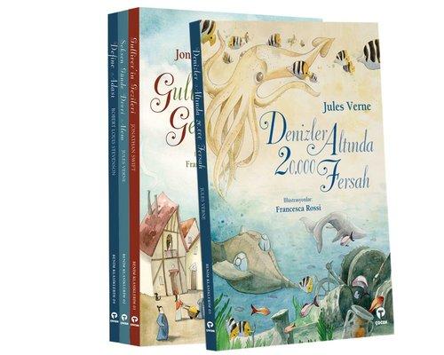 Çocuk Klasikleri Seti-Büyük Boy-4 Kitap Takım