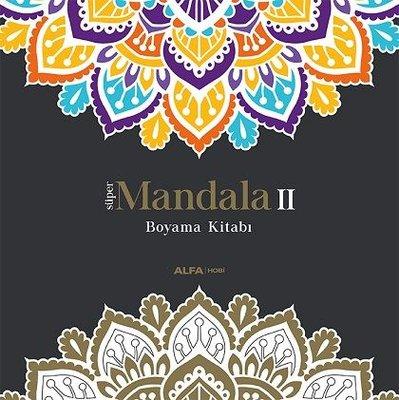 Süper Mandala 2-Boyama Kitabı