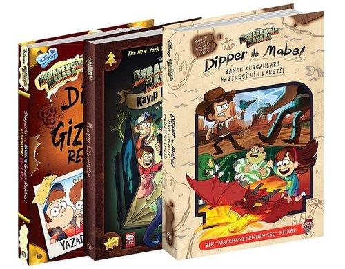 Disney Esrarengiz Kasaba Macera Serisi-3 Kitap Takım