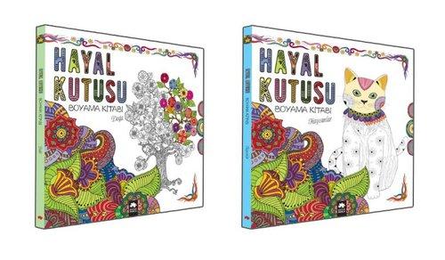 Hayal Kutusu Boyama Kitaplığı Seti-2 Kitap Takım