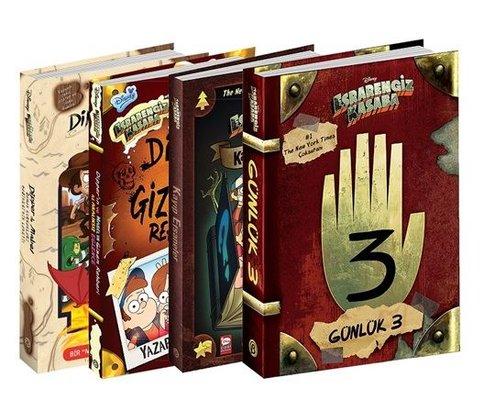 Disney Esrarengiz Kasaba Mega Seti-4  Kitap Takım