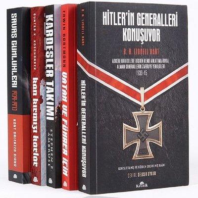 İkinci Dünya Savaşı Seti-5 Kitap Takım