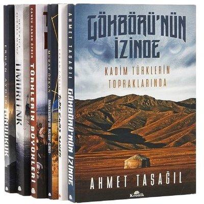 Türklerin Kadim Tarihi Seti-6 Kitap Takım
