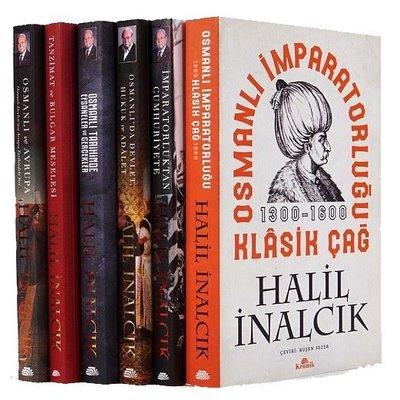 Halil İnalcık Seti-6 Kitap Takım