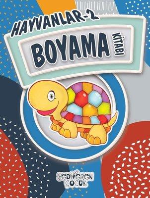 Hayvanlar 2-Boyama Kitabı
