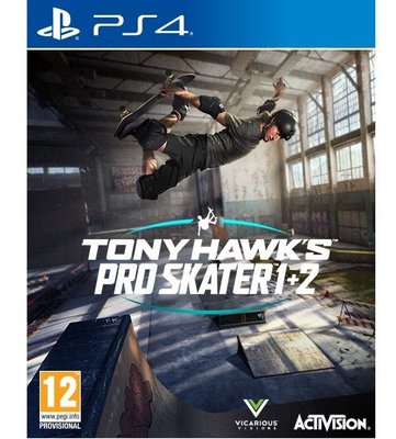 Tony Hawk Pro Skater 1+2 Ps4 Oyun