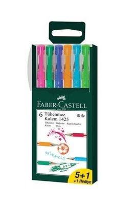 Faber-Castell 1425 5+1 Tükenmez Kalem
