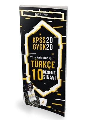 2020 KPSS Genel Yetenek Genel Kültür Türkçe 10 Deneme Sınavı-Tüm Adaylar İçin