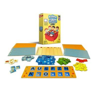Neo Kelime İşlem Yarışması Junior Aile Kutu Oyunu