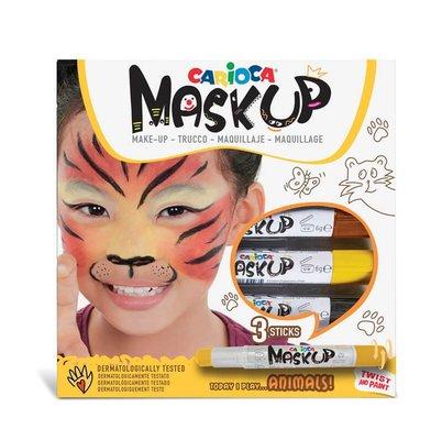 Carioca Mask Up 3 Renk Hayvanlar Yüz Boyası