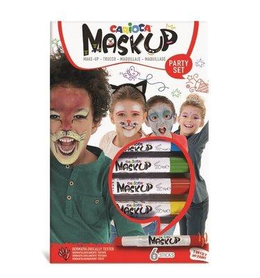 Carioca Mask Up Party 6 Renk Yüz Boyası