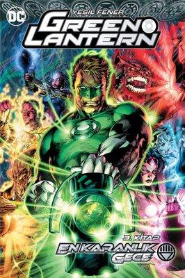 Green Lantern 12 - En Karanlık Gece Cilt 3