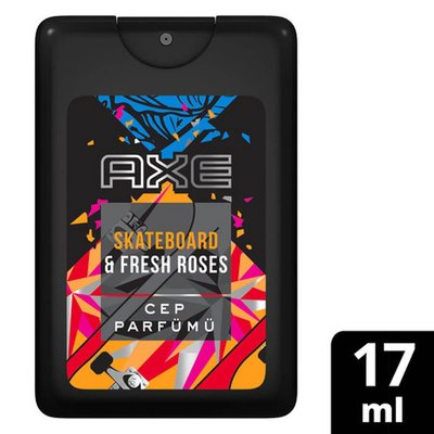 Axe Cep Parfumu Skateboard & Fresh Roses 17Ml