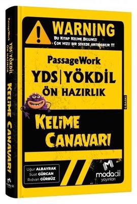 Modadil Yayınları Passagework YDS - Yökdil Ön Hazırlık Kelime Canavarı