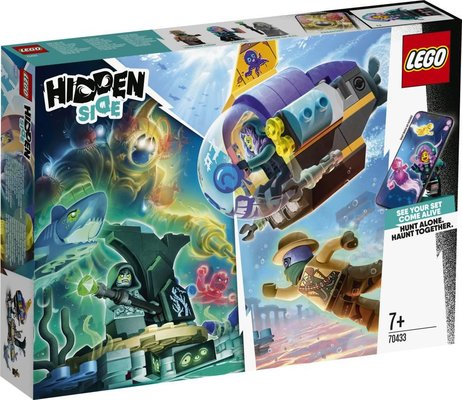 Lego Hidden Side Denizaltısı 70433