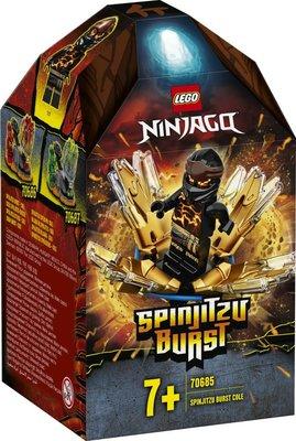 Lego Ninjago Spinjitzu Patlaması - Cole 70685