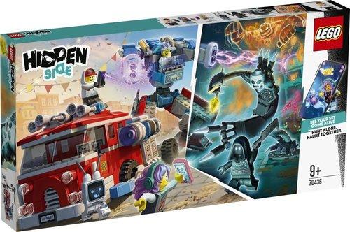 Lego Hidden Side Hayalet İtfaiye Kamyonu 3000 70436