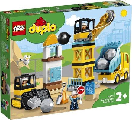 Lego Duplo İnşaat Yıkım Aracı 10932