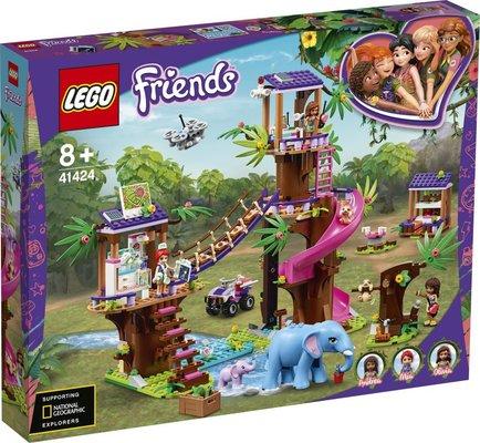 Lego Friends Orman Kurtarma Üssü 41424
