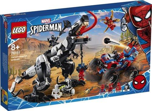 Lego Super Heroes Venomosaurus Pususu 76151