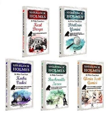 Sherlock Holmes Seti - 5 Kitap Takım