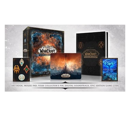 Pc World of Warcraft: Shadowlands Collectors Edition