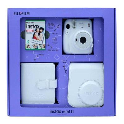 Fuji Instax Mini 11 Ice White Bundle Box