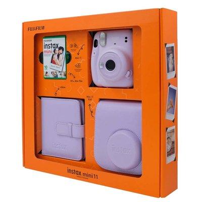 Fuji Instax Mini 11 Lilac Purple Bundle Box