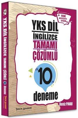 Tercih Akademi YKS DİL İngilizce Tamamı Çözümlü 10 Deneme