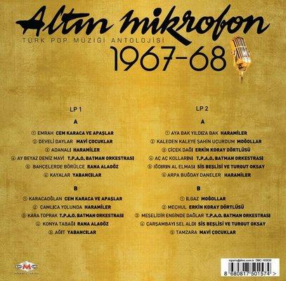 Altın Mikrofon 1967-68 Plak