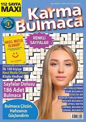 Maxi Karma Bulmaca - Ağustos/Eylül 2020