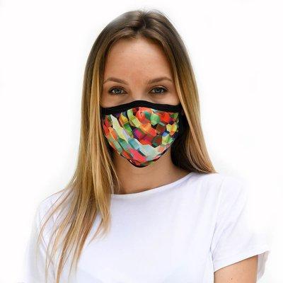 Tissum Colorful Çocuk Yıkanabilir Filtreli Maske