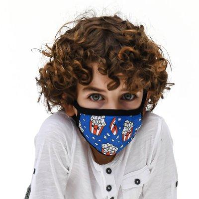 Tissum Popcorn  Çocuk Yıkanabilir Filtreli Maske
