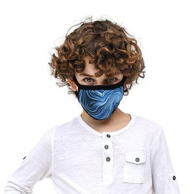 Tissum Waves Çocuk Yıkanabilir Filtreli Maske
