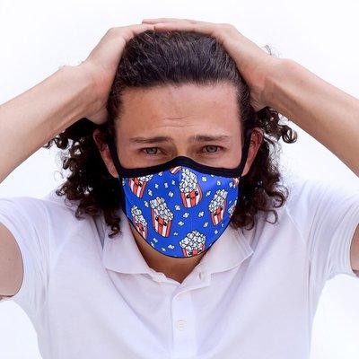 Tissum Popcorn Yetişkin Yıkanabilir Filtreli Maske