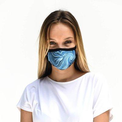 Tissum Waves Yetişkin Yıkanabilir Filtreli Maske