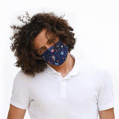 Tissum Planets Yetişkin Yıkanabilir Filtreli Maske