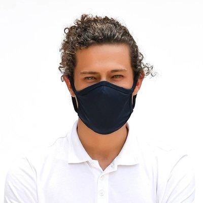 Tissum Black Yetişkin Yıkanabilir Filtreli Maske
