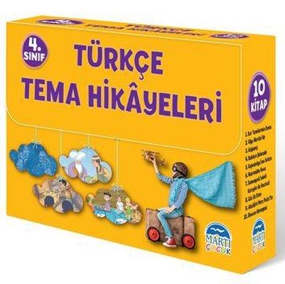 Türkçe Tema Hikayeleri Seti - 10 Kitap Takım