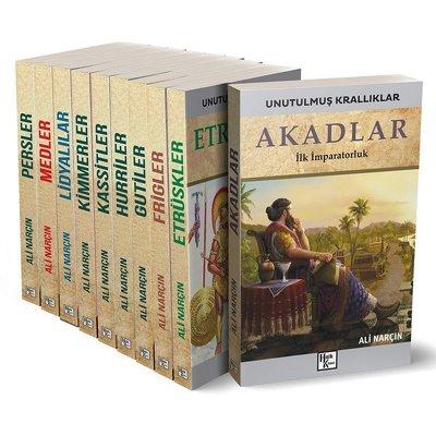 Unutulmuş Krallıklar Seti - 10 Kitap Takım