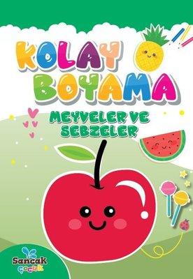 Kolay Boyama - Meyveler ve Sebzeler