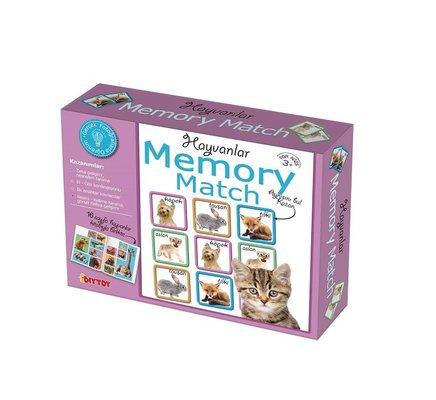 DiyToy-Eğt.Oyn.Memory  Hayvanlar