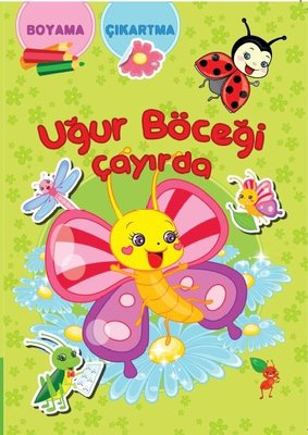 Uğur Böceği Çayırda Boyama Kitabı