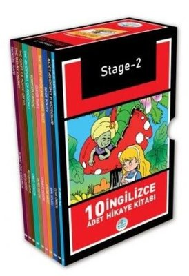 Stage - 2 İngilizce Hikaye Seti (10 Kitap Kutulu)